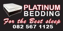Platinum Bedding Potchefstroom Logo